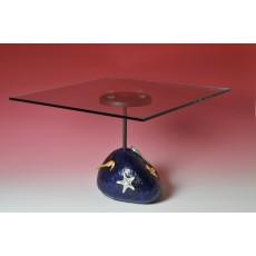 Il tavolo sasso blu