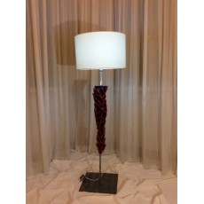 The floor lamp with creeper coral